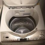 洗濯機洗浄後